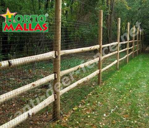 Fence for taking care of the plants and crops.