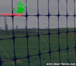 Fence in a crop field
