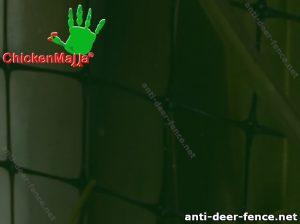 Polypropylene deer fence