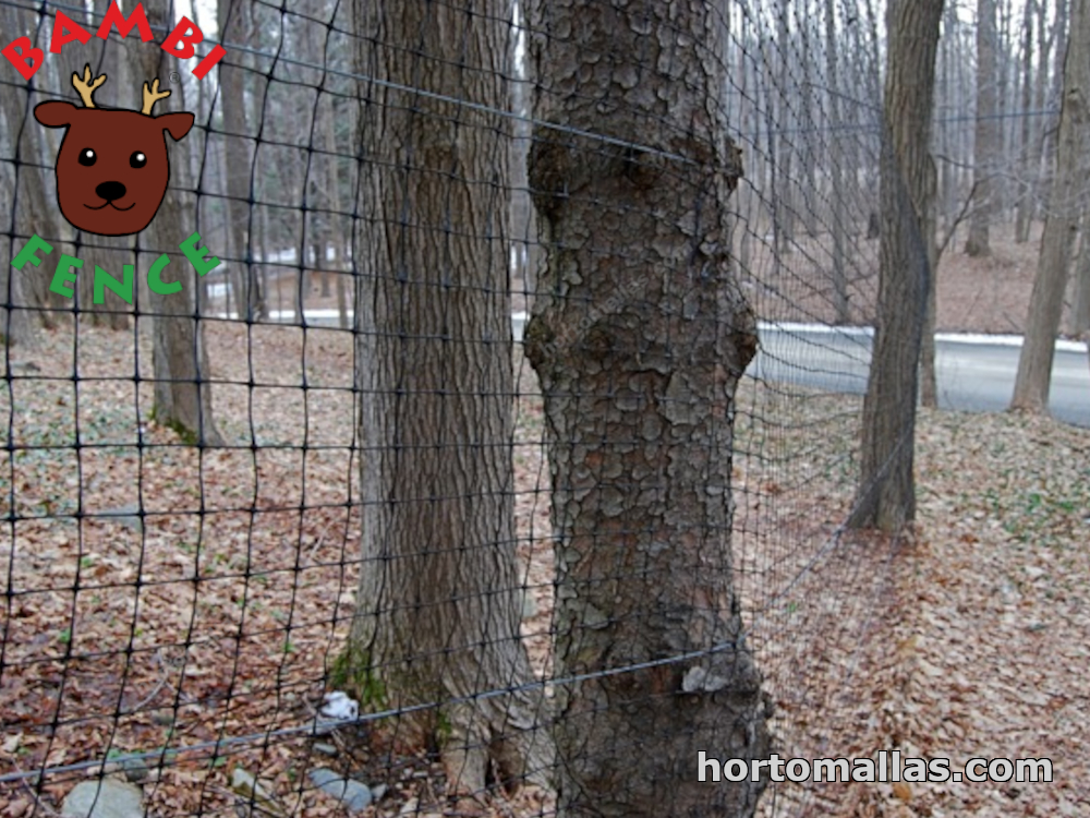 fence used for crops protection against deer attack
